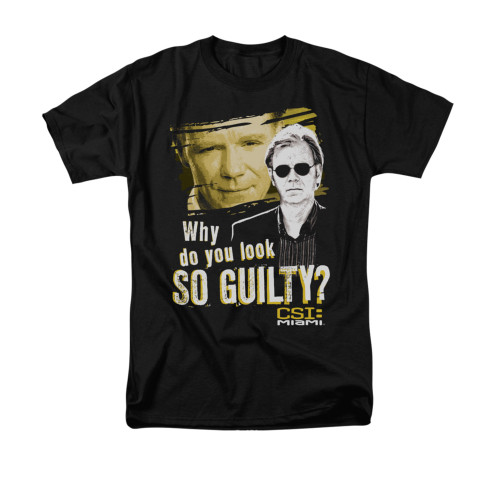 Image for CSI Miami T-Shirt - So Guilty