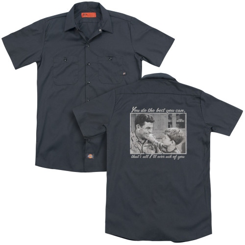 Image for Andy Griffith Show Dickies Work Shirt - Wise Words