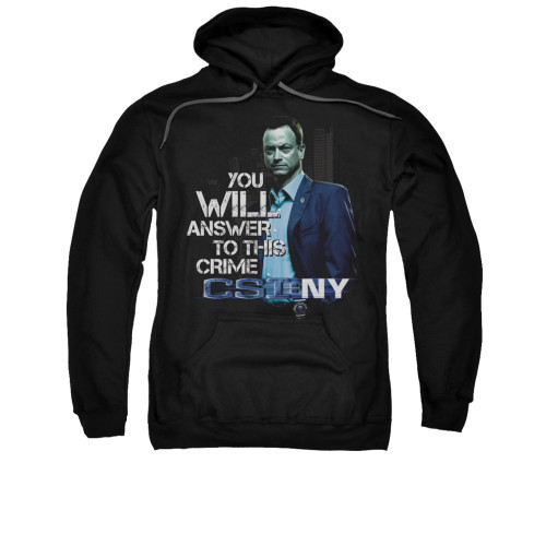 Image for CSI: NY Hoodie - You Will Answer