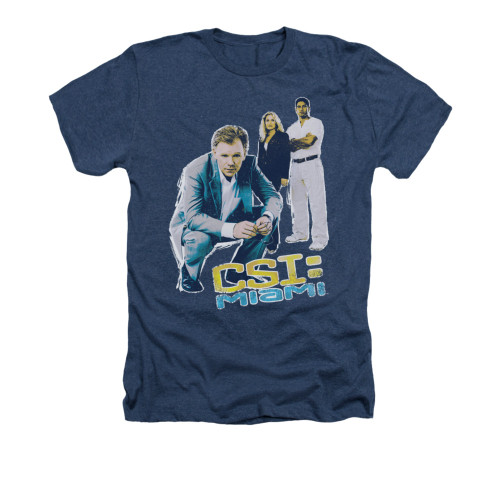 Image for CSI Miami Heather t-shirt - In Perspective