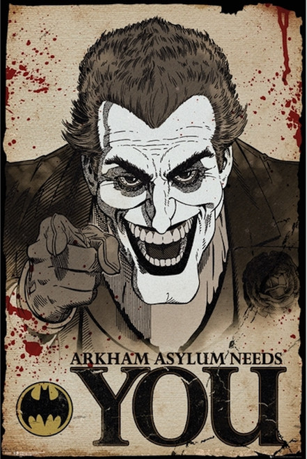 Image for Joker Needs You Poster