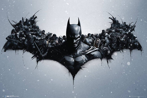 Image for Batman Arkham Origins Poster