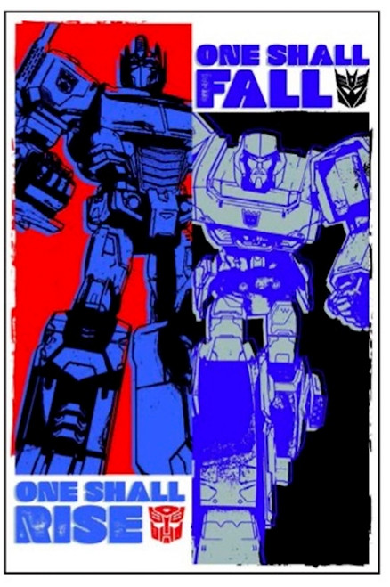 Image for Transformers Poster - Rise and Fall