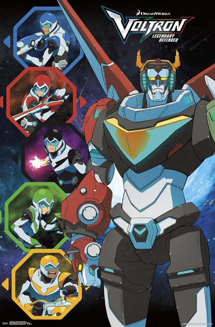 Image for Voltron Poster - Defender of the Universe