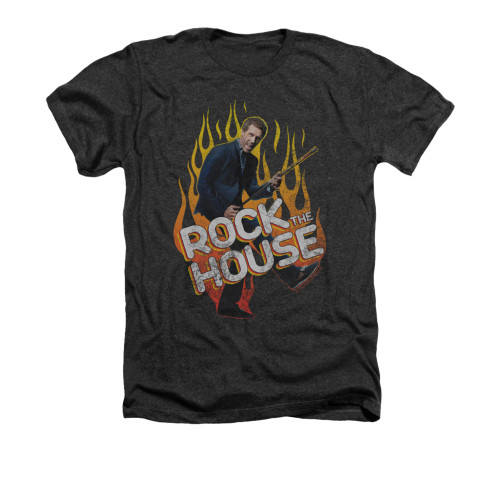 Image for House Heather t-shirt - Rock the House
