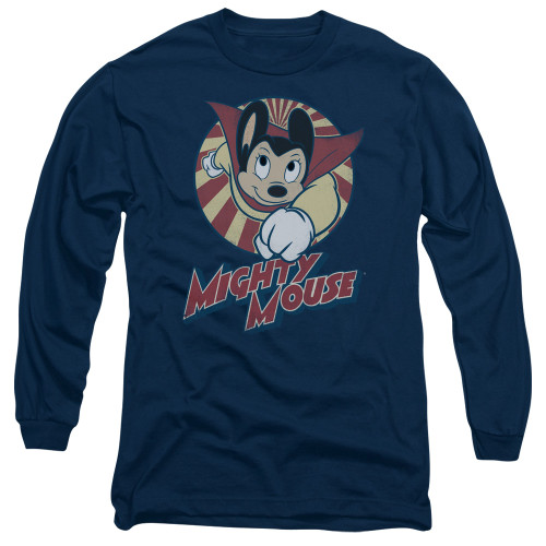 Image for Mighty Mouse Long Sleeve T-Shirt - The One The Only