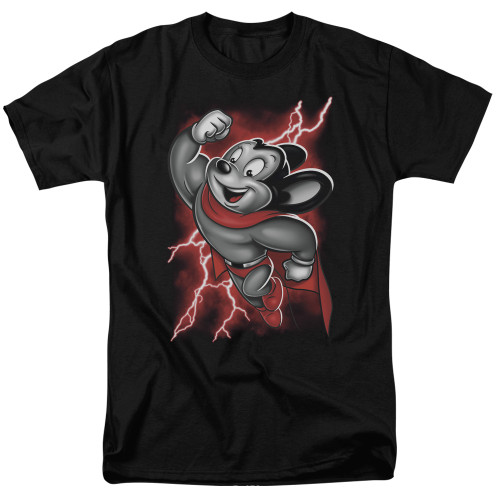 Image for Mighty Mouse T-Shirt - Mighty Storm