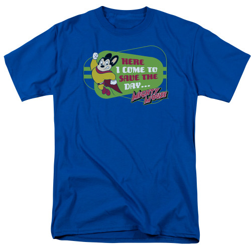 Image for Mighty Mouse T-Shirt - Here I Come