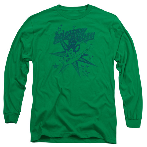 Image for Mighty Mouse Long Sleeve T-Shirt - Mighty Mouse
