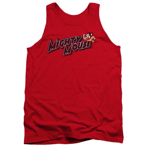 Image for Mighty Mouse Tank Top - Might Logo