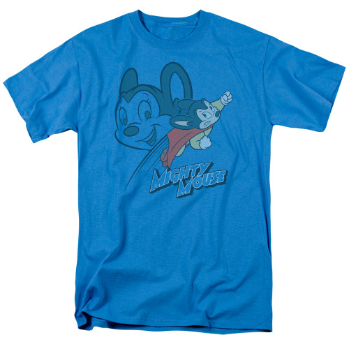 Image for Mighty Mouse T-Shirt - Double Mouse