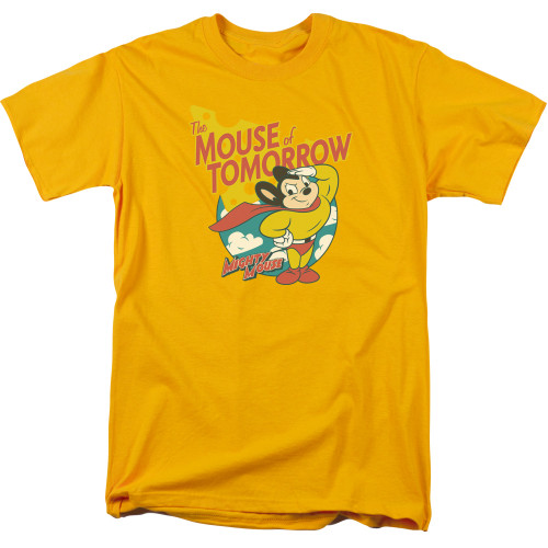 Image for Mighty Mouse T-Shirt - Mouse Of Tomorrow