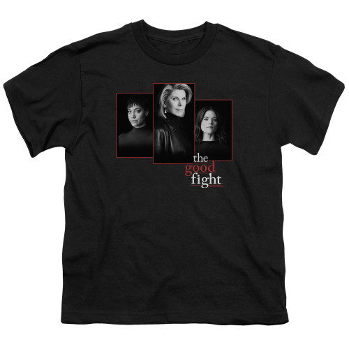 Image for The Good Fight Youth T-Shirt - The Good Fight Cast