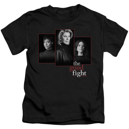 Image for The Good Fight Kids T-Shirt - The Good Fight Cast