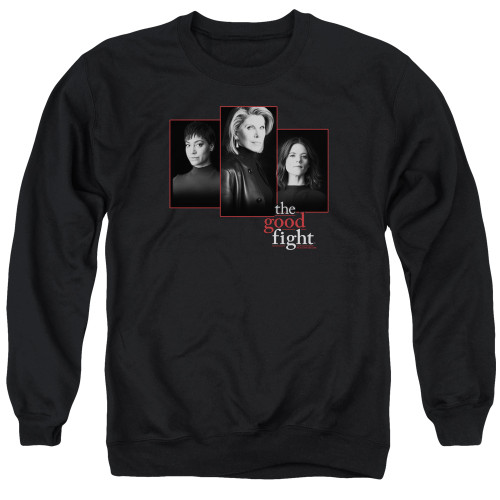 Image for The Good Fight Crewneck - The Good Fight Cast
