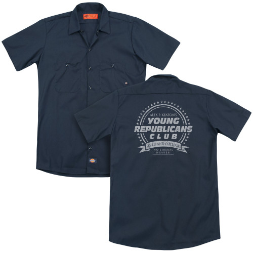 Image for Family Ties Dickies Work Shirt - Young Republicans Club