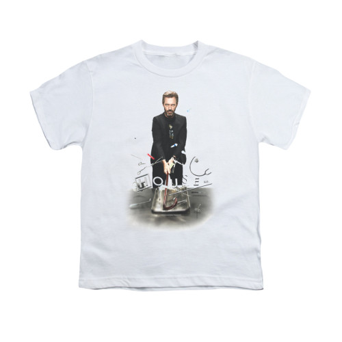 Image for House Youth T-Shirt - Hit It