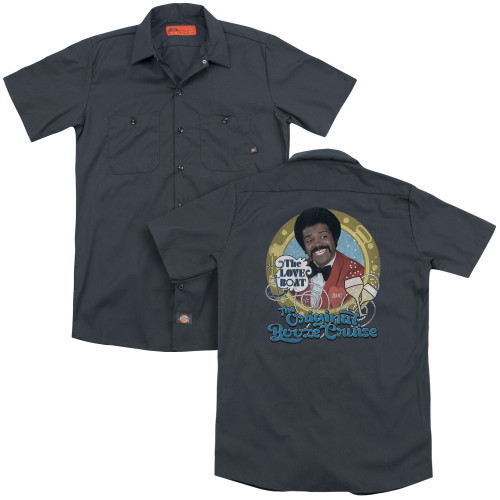 Image for The Love Boat Dickies Work Shirt - Original Booze Cruise