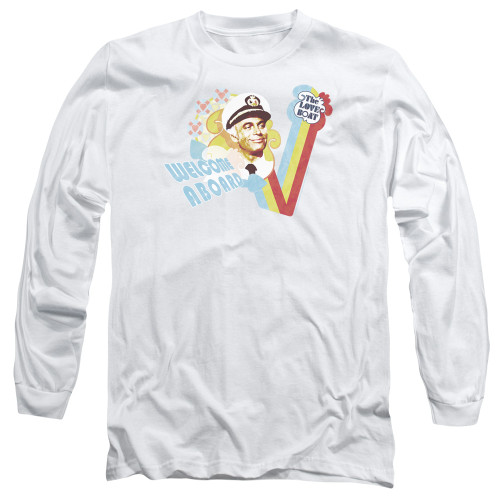 Image for The Love Boat Long Sleeve T-Shirt - Welcome Aboard