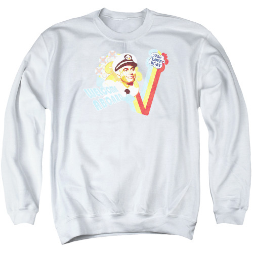 Image for The Love Boat Crewneck - Welcome Aboard