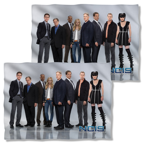 Image Closeup for NCIS Pillow Case - Group