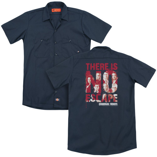Image for Criminal Minds Dickies Work Shirt - No Escape