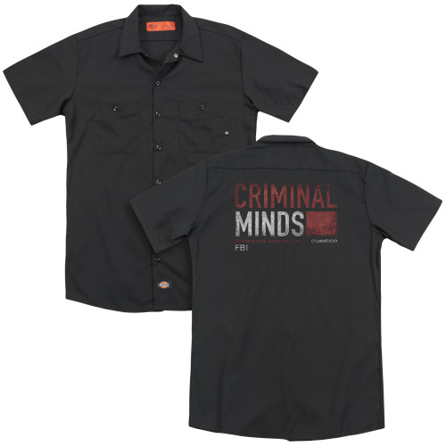 Image for Criminal Minds Dickies Work Shirt - Title Card