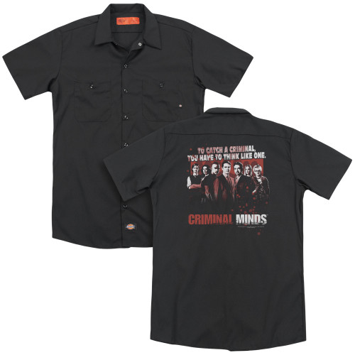 Image for Criminal Minds Dickies Work Shirt - Think Like One