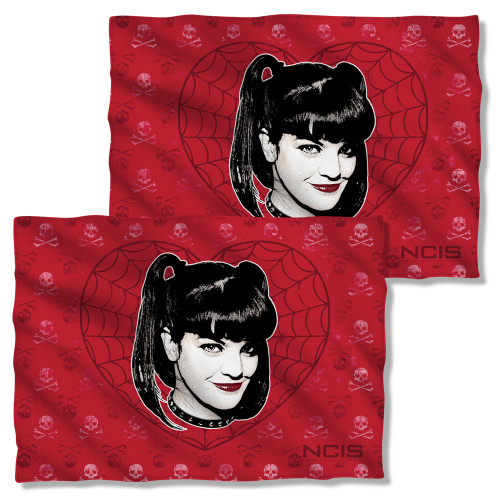 Image Closeup for NCIS Pillow Case - Abby Heart