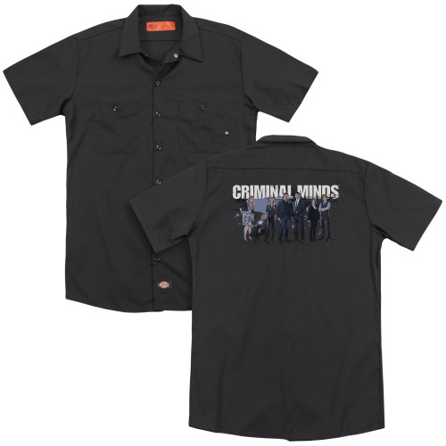 Image for Criminal Minds Dickies Work Shirt - Season 10 Cast