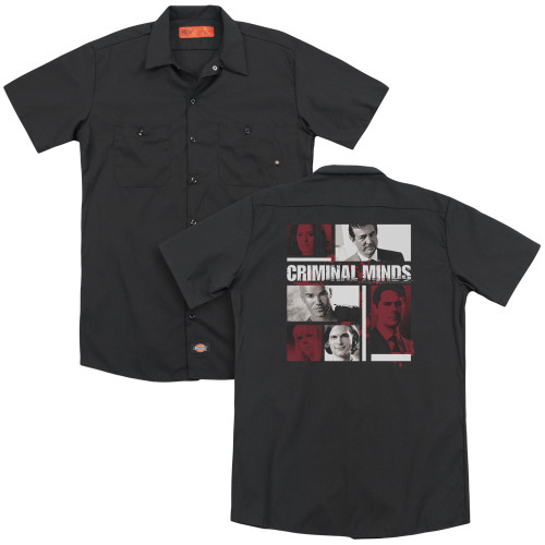 Image for Criminal Minds Dickies Work Shirt - Character Boxes