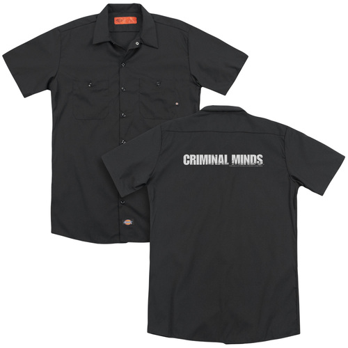 Image for Criminal Minds Dickies Work Shirt - Logo