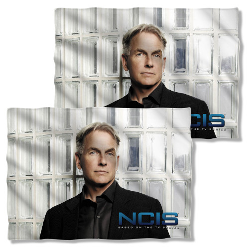 Image Closeup for NCIS Pillow Case - Glass Wall