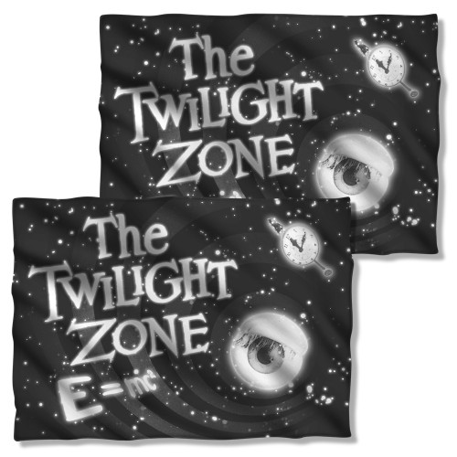 Image Closeup for Twilight Zone Pillow Case - Glass Wall
