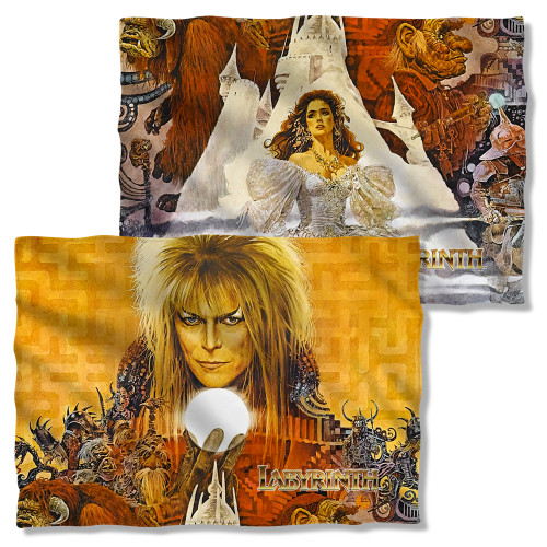 Image Closeup for Labyrinth Pillow Case - Crystal Ball