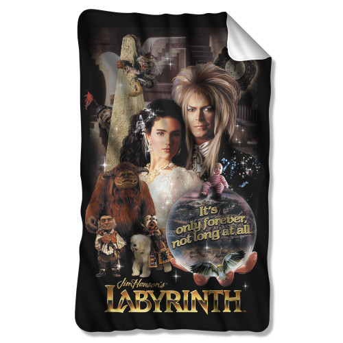Image for Labyrinth Fleece Blanket - Only Forever