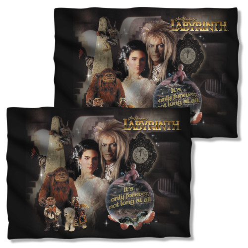 Image Closeup for Labyrinth Pillow Case - Only Forever