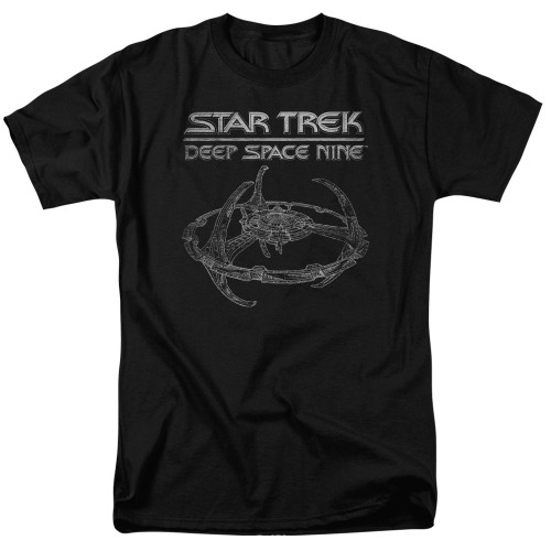Image for Star Trek Deep Space Nine T-Shirt - DS9 Station