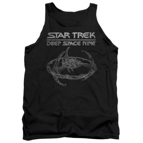 Image for Star Trek Deep Space Nine Tank Top - DS9 Station