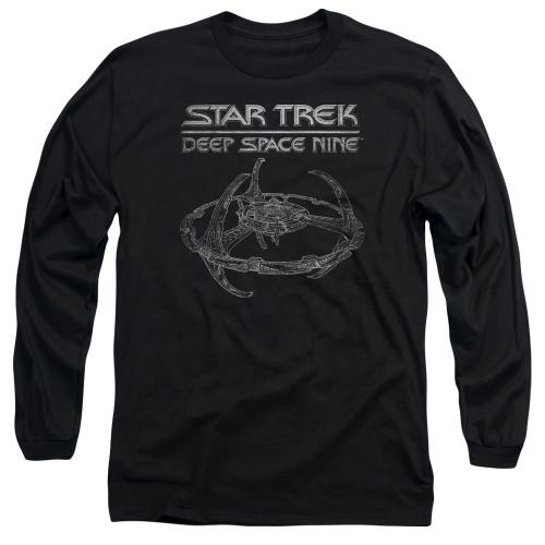Image for Star Trek Deep Space Nine Long Sleeve T-Shirt - DS9 Station