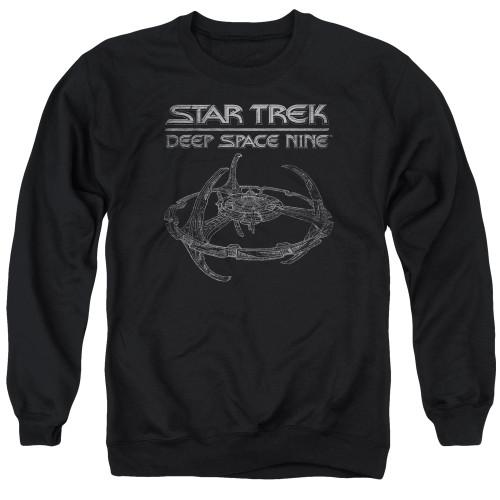 Image for Star Trek Deep Space Nine Crewneck - DS9 Station