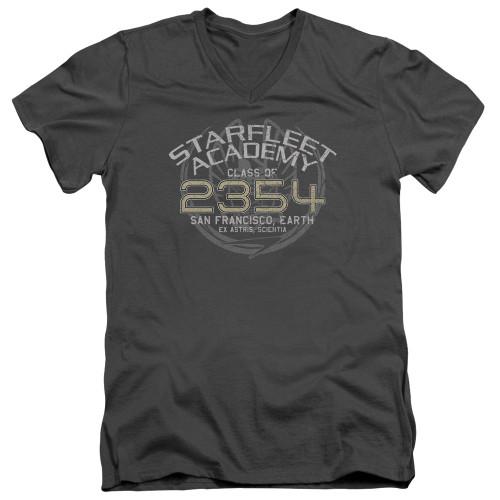 Image for Star Trek Deep Space Nine V-Neck T-Shirt Sisko Graduation
