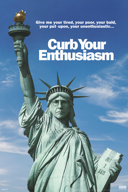 Image for Curb Your Enthusiasm Poster - Statue