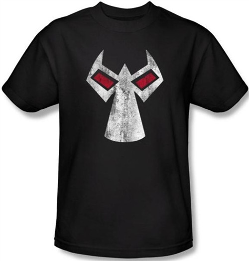Image Closeup for Bane T-Shirt - Mask