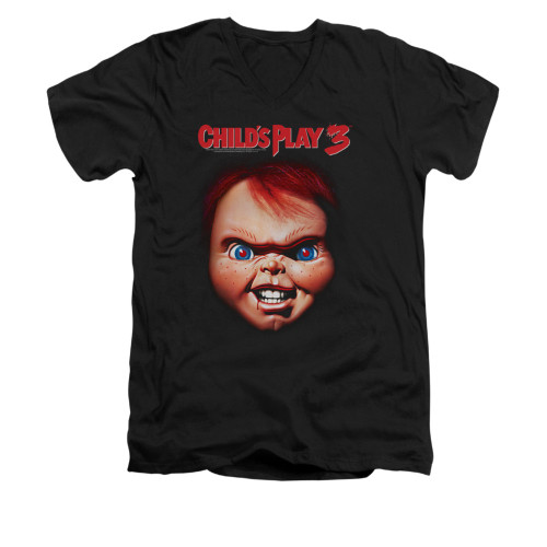 Image for Child's Play V-Neck T-Shirt - Chucky