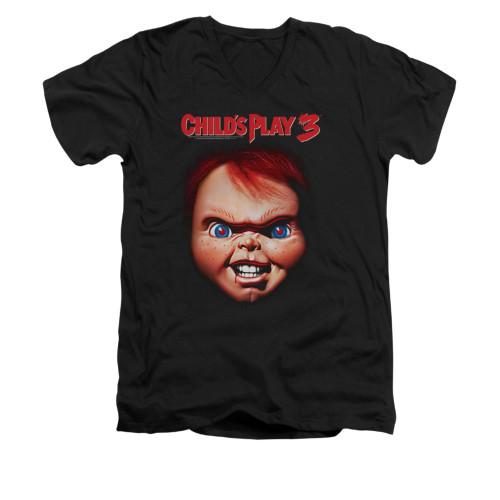 Child's Play V-Neck T-Shirt - Chucky