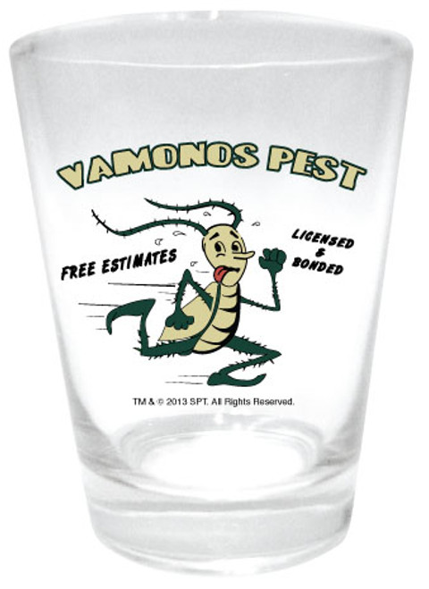 Image for Breaking Bad Vamonos Pest Shot Glass