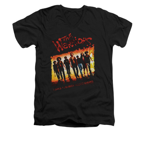 Image for the Warriors V-Neck T-Shirt - One Gang