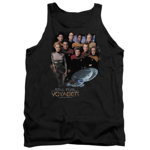 Image for Star Trek Voyager Tank Top - Voyager Crew