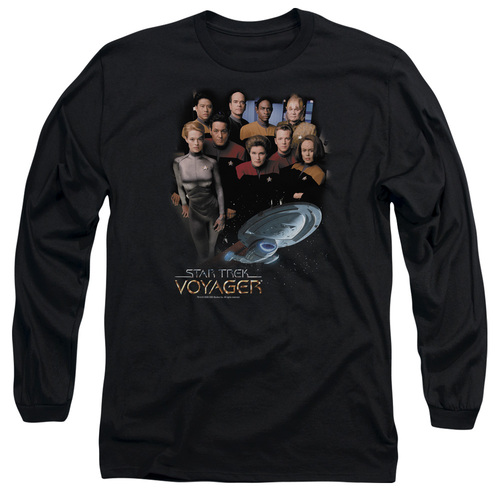 Image for Star Trek Voyager Long Sleeve T-Shirt - Voyager Crew